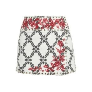 3754fce36 Isabel Marant Skirts - Isabel Marant White S. 2 Gelicia Denim Mini Skirt